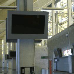 obudowa monitora na stadionie w Gdańsku