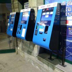 kiosk z funkcja płatności