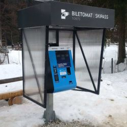 kiosk z funkcją płatności
