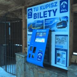 kiosk z funkcją płatniczą