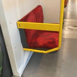 element zabudowy w metrze