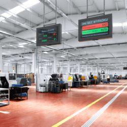 Przemysłowa obudowa monitora - wisząca
