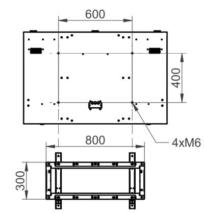 Interfejs montażowy obudowy i uchwyt ścienny standardowy